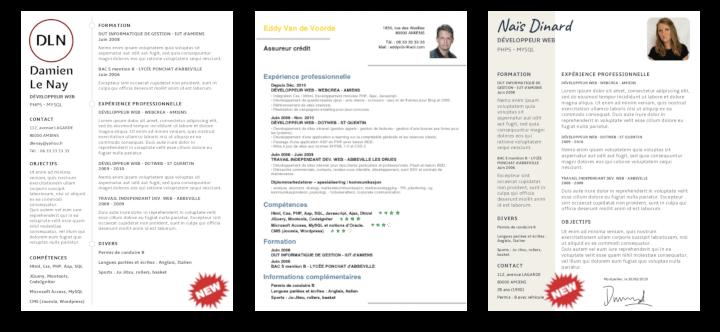 2019 Resume templates giga-cv app