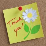 Ecrire une lettre de remerciement suite à un stage