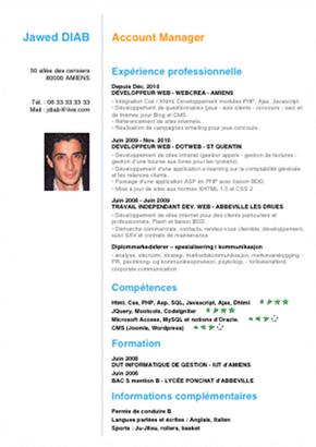 appli cv modèle #15 candidature mail